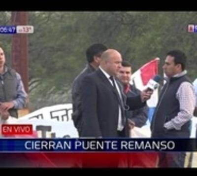 Pobladores del bajo Chaco exigen reparación de la ruta 12
