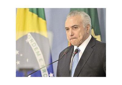 Brasil: Exigen respuesta a pedidos de juicio político contra Temer