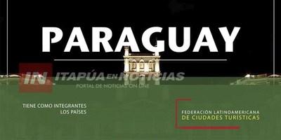 PARAGUAY ASUME PRESIDENCIA DE CIUDADES TURÍSTICAS LATINOAMERICANAS.