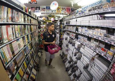 El regreso: prosperan tiendas de juegos retro en Japón