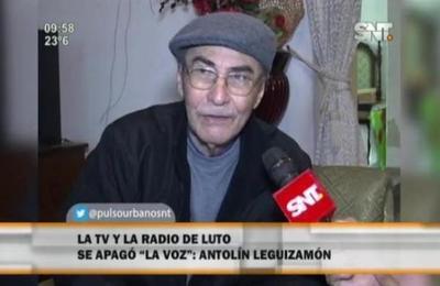 Falleció Antolín Leguizamón