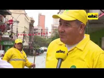 28 años limpiando Asunción