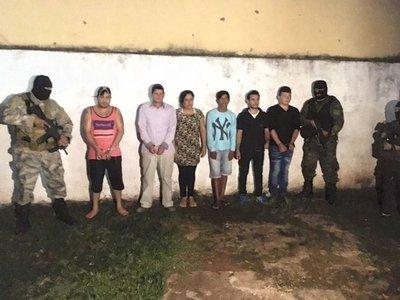 Seis detenidos en Pedro Juan por secuestro