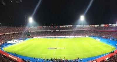 Un colombiano marca el primer gol en la Nueva Olla