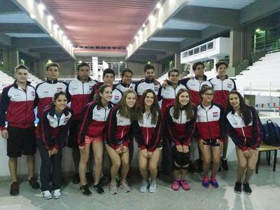 Paraguay presente en el Mundial Junior de Natación