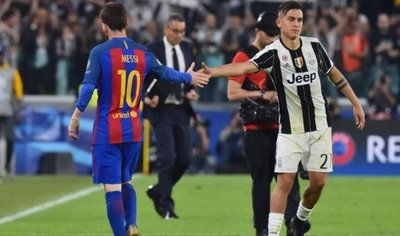 Barcelona y Juventus darán vida a otro duelo entre Messi y Dybala