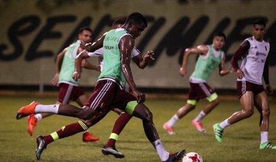 Venezuela reúne a todos sus jugadores a dos días del duelo ante Colombia