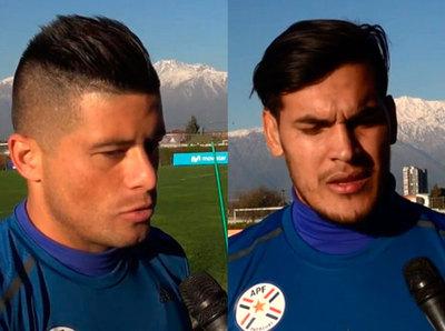 Hablan Gómez y Moreira