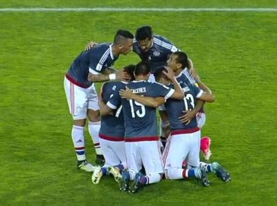 Vidal anota contra su valla y lo festejamos