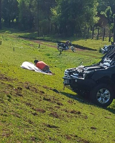 Motociclista muere sobre ruta VI