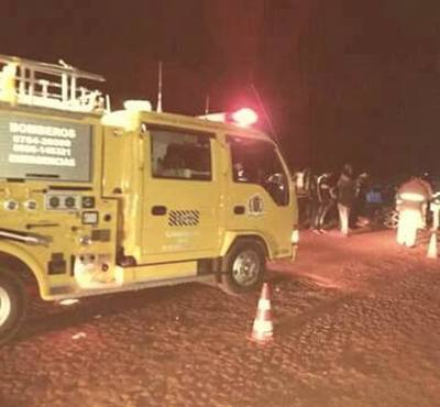 MOTOCICLISTA MUERE EN TOMÁS ROMERO PEREIRA TRAS ACCIDENTE