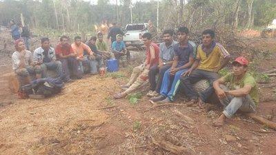 Caaguazú: Arrestan a 26 labriegos por supuesta invasión