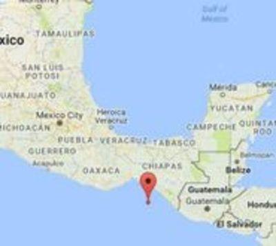 Sismo de 8,2 sacudió México y emiten alerta de tsunami