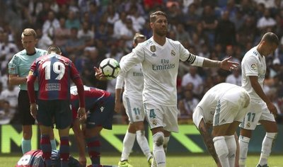 Real Madrid no puede y empata de local ante Levante