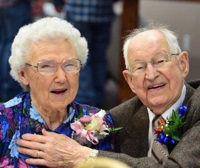 Irma y Harvey, un matrimonio de ancianos en la vida real
