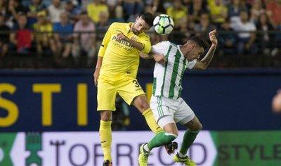 Villarreal supera en casa al Betis de Tonny Sanabria