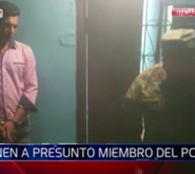 Capturan a hombre que sería del PCC en San Pedro