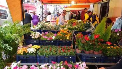 Feria del Indert no se suspende por lluvia