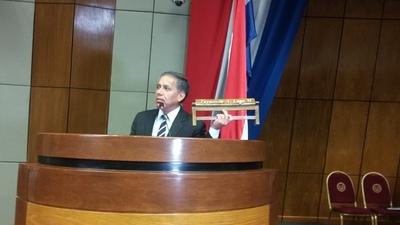 Carlos Amarilla trabajará por candidatura de Abdo