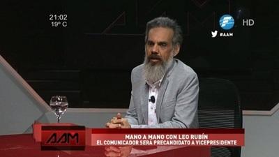 Leo Rubín: El objetivo es derrotar al stronismo