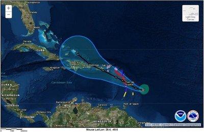 Tras Irma, el Caribe se prepara para la llegada del huracán María