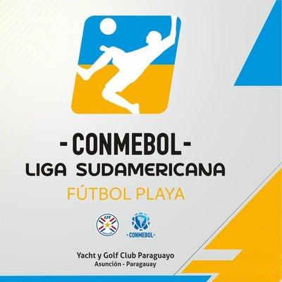 Se viene la Liga Sudamericana de Fútbol de Playa
