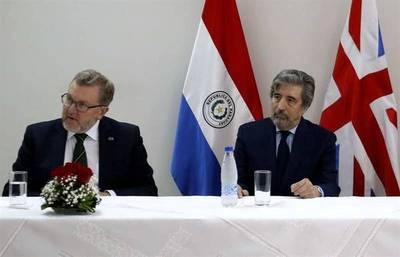 """Reino Unido busca afianzar relaciones comerciales con Paraguay ante """"brexit"""""""