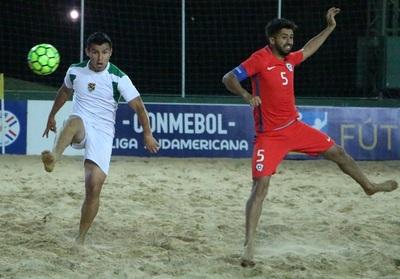 Chile encabeza la Conmebol Liga Sudamericana de Playa