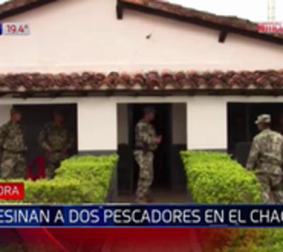 Asesinan a dos comerciantes en el Chaco
