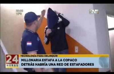 Tecnología para delinquir: millonaria estafa a la Copaco