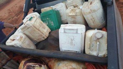 Ex intendente detenido por transportar carne con nafta