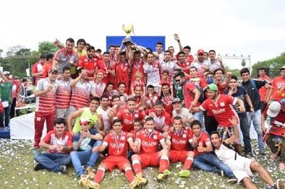 3 de Febrero y Santaní ascendieron a la Profesional como campeón y vicecampeón