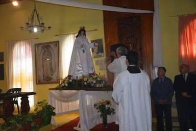 Presos celebraron fiesta de su santa patrona, la Virgen de las Mercedes