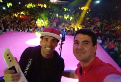 "Edgar Camarasa a Santiago Peña: ""Yo te doy mi voto"""