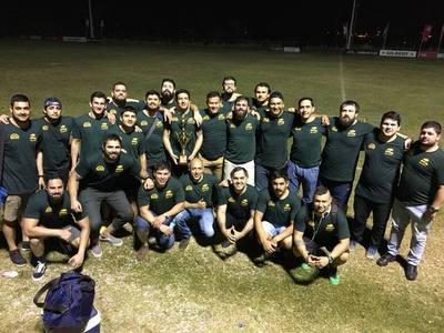 Franco es hexacampeón del Regional A de rugby