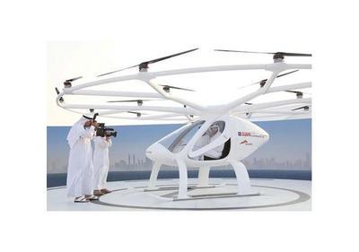 Dubái  prueba para ser la primera ciudad en usar taxis voladores