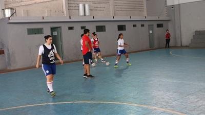 Sigue con buen ritmo preparación de la Selección Femenina de Futsal
