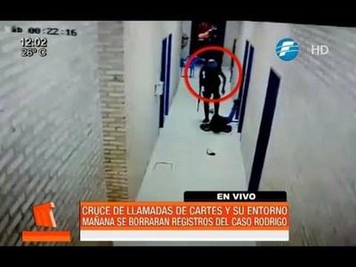 Rodrigo Quintana: mañana borrarían registros de llamadas de Cartes y su entorno
