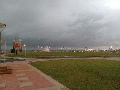 Se registran tormentas con granizos