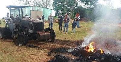 """FTC afirma que el ataque a tractores """"fue perpetrado por campesinos"""""""