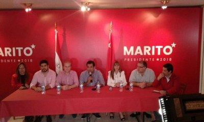 Oficializan candidatura de Marito y Velázquez