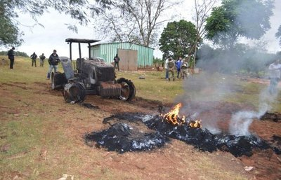 Menonitas retiran sus maquinarias tras otro ataque del EPP en Tacuatí