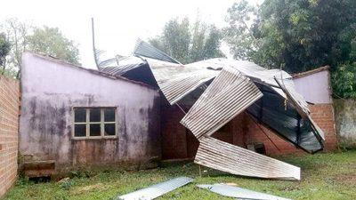 Temporal dejó unas 1.500 familias damnificadas en el Alto Paraná