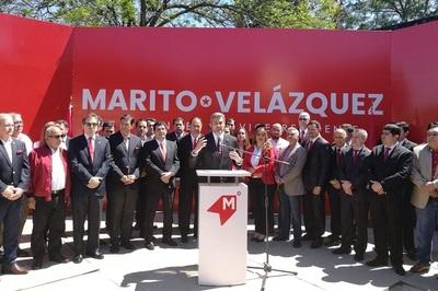 Colorado Añetete oficializa la inscripción de sus candidaturas
