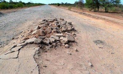 En el Chaco se quejan por falta de bacheo
