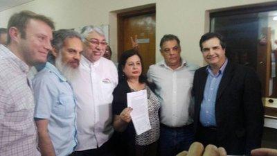 Frente Guasu inscribe su candidatura