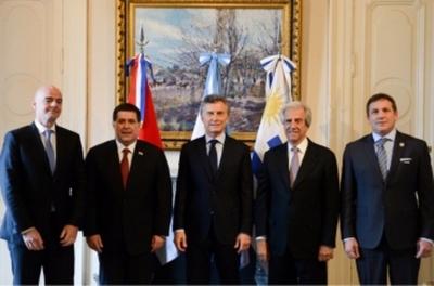 Paraguay oficializa candidatura  para organizar Mundial del 2030