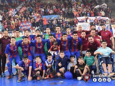 Cerro Porteño es tricampeón de la Liga Premium