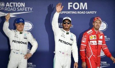 Hamilton: Es mi primera pole en Suzuka, me siento increíble