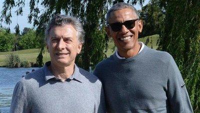 Macri se reúne en privado con el expresidente Obama